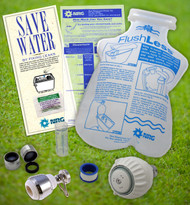 Kitchen and Bathroom Indoor Water Saving Eco Kit Faucet | Toilet | Shower