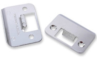 Door Tite® Strike Plate Ratchet Style Door Strike in Nickel Hardware | Automatic Door Tight