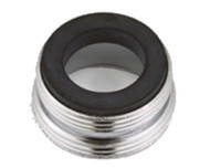 Faucet Aerator Adapter Male 13/16 x Male 55/64"