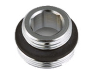 Faucet Aerator Adapter Male 3/8 x Male 55/64"