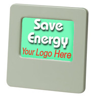 Custom Printed Energy Saving Bright Green Night Light | Luminescent glow