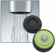 faucet aerator with on off switch. Cache aerator Neoperl Duo Flow Kitchen Faucet Aerator  Low Push Pull Design