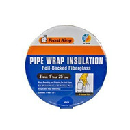 Pipe insulation keeps your pipes from losing heat and wasting energy.
