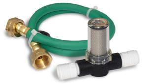 Gard'n Gro hose and pre-filter for use with Rainshow'r Gardn' Gro garden chlorine filter.