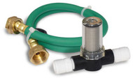 Gard'n Gro hose and pre-filter for use with Rainshow'r Gardn' Gro garden chlorine filter.