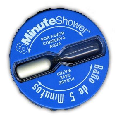 Shorter Shower Clock Sand Timer | Five Minute Shorter Shower ...