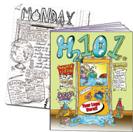 H2101 - an exciting coloring book journey about water conservation.