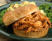 Pulled Pork Barbecue with Tomato Based Sauce
