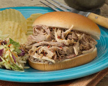 Pulled Pork Barbecue with Vinegar Sauce