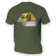 Professional Gaming Camper Mens T-Shirt