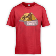 Professional Gaming Camper Kids T-Shirt