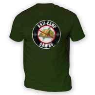 Anti Camping Gaming Mens T-Shirt
