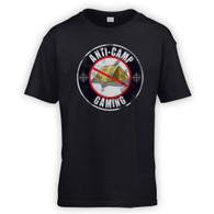 Anti Camping Gaming Kids T-Shirt