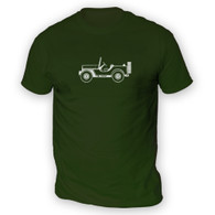 Willys MB GP Mens T-Shirt