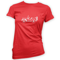 Willys MB GP Woman's T-Shirt