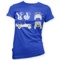 YJ Blueprint Woman's T-Shirt