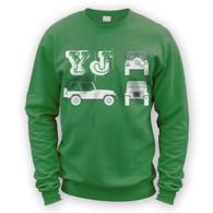 YJ Blueprint Sweater