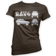 Rav4 Blueprint Woman's T-Shirt