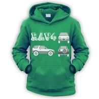 Rav4 Blueprint Kids Hoodie
