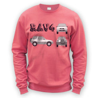 Rav4 Blueprint Sweater
