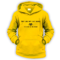 They Are Not Cat Hairs Kids Hoodie