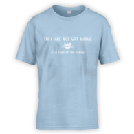 They Are Not Cat Hairs Kids T-Shirt