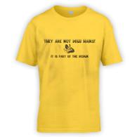 They Are Not Degu Hairs Kids T-Shirt