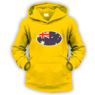 Australian Flag Kids Hoodie