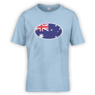 Australian Flag Kids T-Shirt