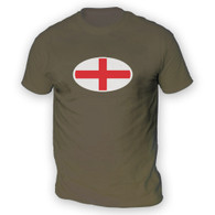 English Flag Mens T-Shirt