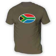 South African Flag Mens T-Shirt