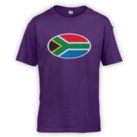 South African Flag Kids T-Shirt