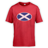 Scottish Flag Kids T-Shirt