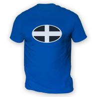 Cornish Flag Mens T-Shirt
