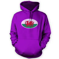 Welsh Flag Hoodie