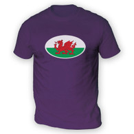 Welsh Flag Mens T-Shirt