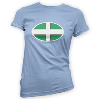 Devon Flag Woman's T-Shirt