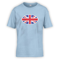 Union Jack Flag Kids T-Shirt