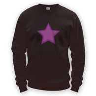 Purple Star Sweater