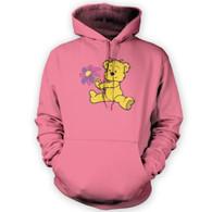 Cute Flower Bear Hoodie