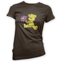 Cute Flower Bear Woman's T-Shirt