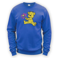 Cute Flower Bear Sweater