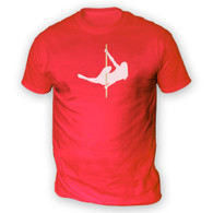 Pole Dancing Fitness Mens T-Shirt