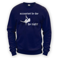Accountant by Day Pole Dancer by Night Sweater