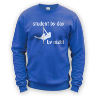Student by Day Pole Dancer by Night Sweater