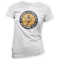 Zombie Outbreak Response Team Woman's T-Shirt
