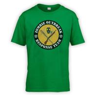 Zombie Outbreak Response Team Kids T-Shirt
