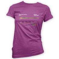 Zombie Slugger Woman's T-Shirt