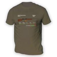 Zombie Shottie Mens T-Shirt