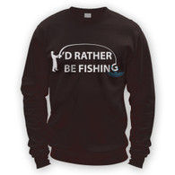 I'd Rather Be Fishing Sweater